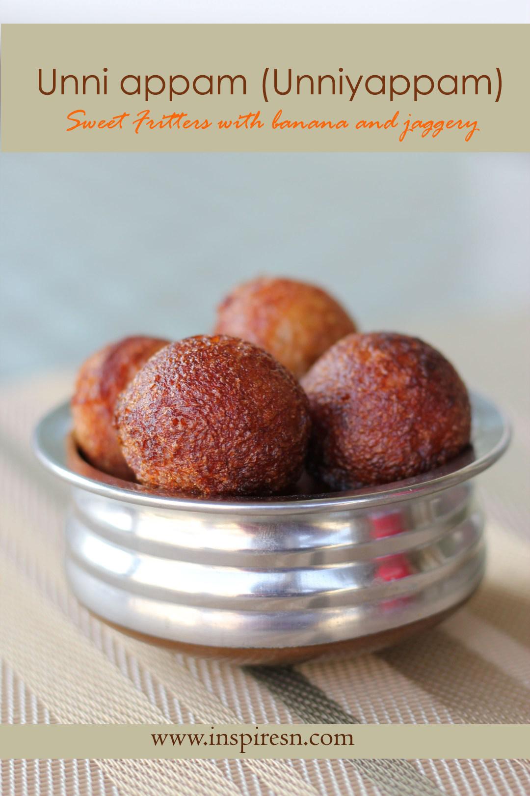 Unniappam Sweet Fritters
