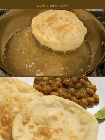 Batura (Bhatura) - Deep Fried Bread