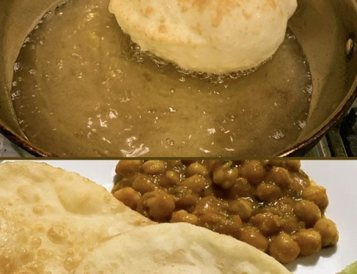 Batura (Bhatura) - Deep Fried Bread