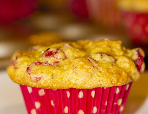Fresh Cranberry muffin