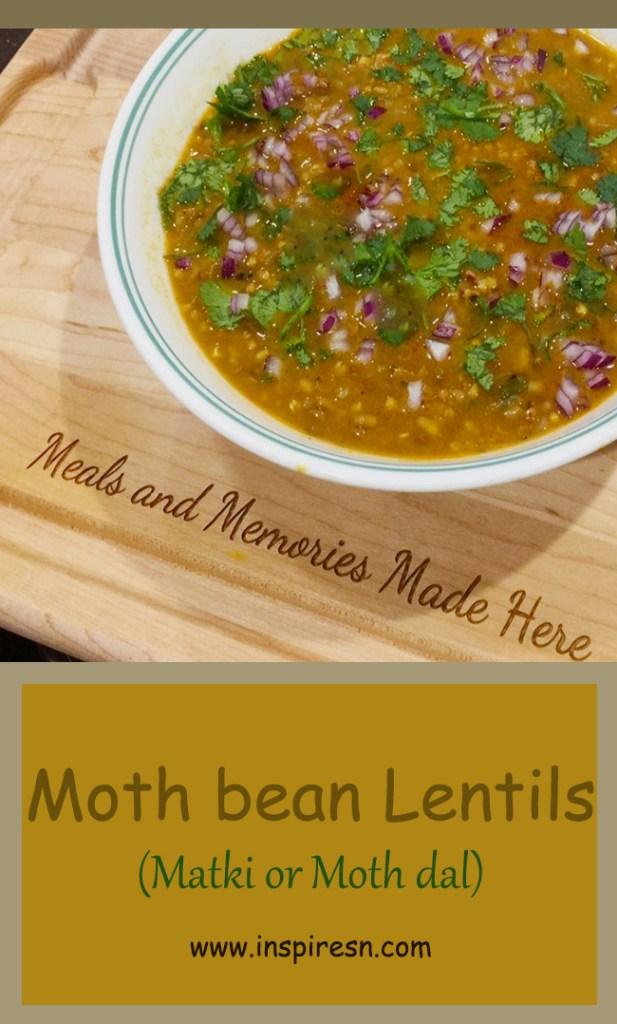 Moth bean lentils