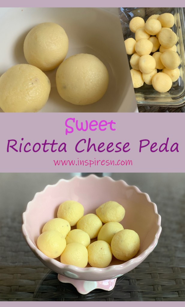 Ricotta cheese Peda