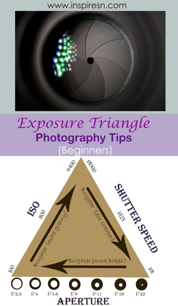 Exposure Triangle Photography Tips  Beginners
