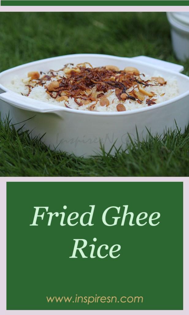 Fried Ghee Rice (Neyy Chor)