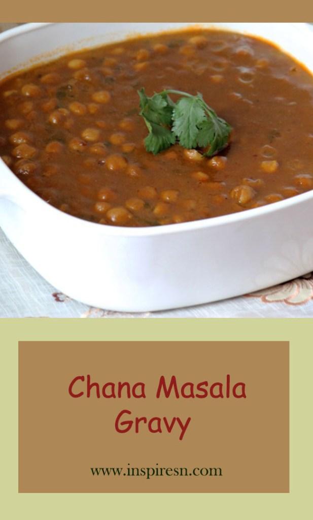 Chana Masala Gravy