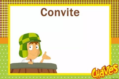 Chaves – Kit festa infantil grátis para imprimir