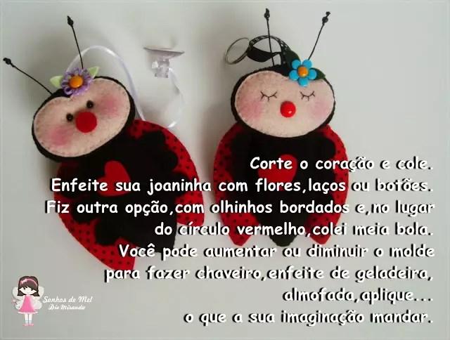joaninha em feltro 16