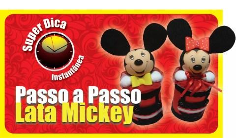 Como fazer Porta treco do MIckey e Minnie