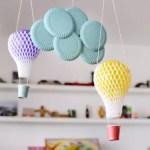 Como fazer um balão com materiais recicláveis