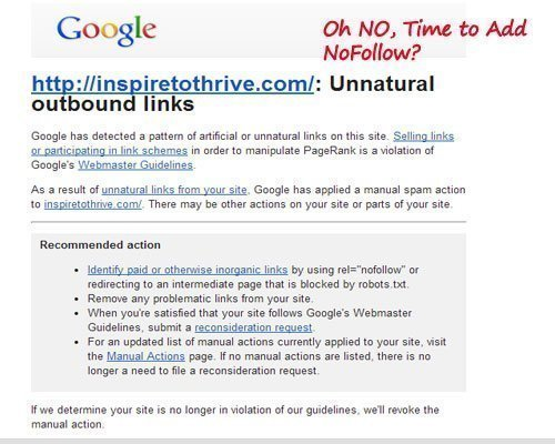 Google changed my pagerank