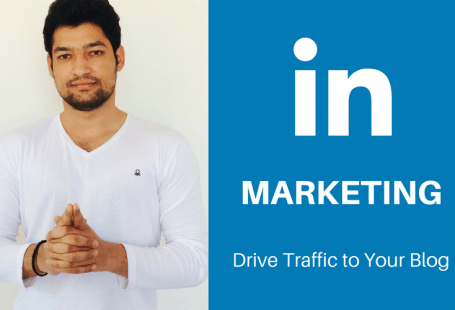 drive traffic to your blog using LinkedIn