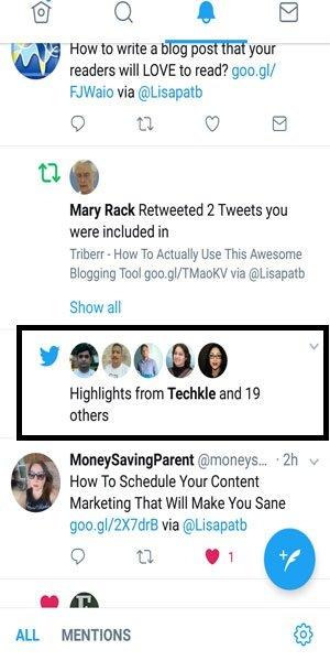 Twitter highlights