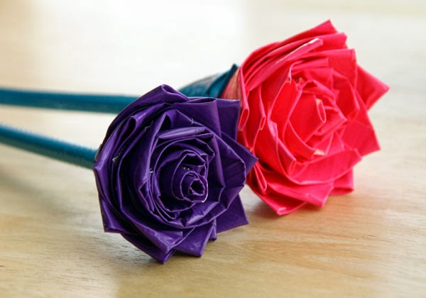 cara membuat bunga dari sedotan, cara membuat bunga mawar dari sedotan, bunga dari sedotan, bunga mawar dari sedotan