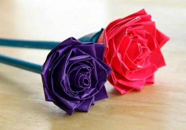 Cara Membuat Bunga Dari Sedotan Dengan Mudah Gambar Video