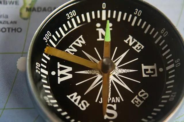 16 arah mata angin dalam bahasa inggris berdasarkan kompas