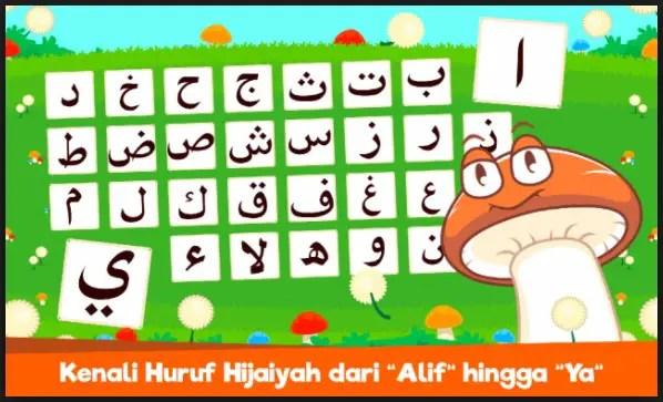 belajar membaca huruf hijaiyah anak dengan gambar dan game
