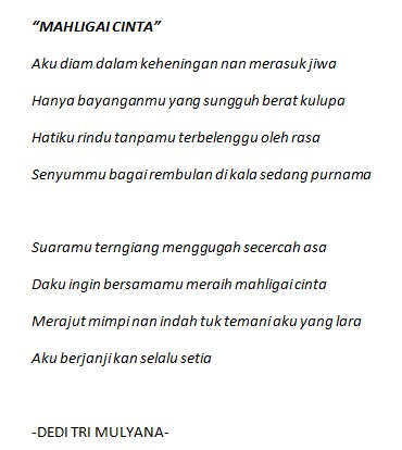 puisi untuk Milea dari Pak Dedi