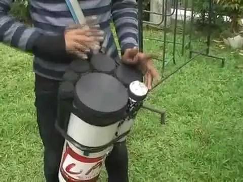 ketipung dangdut paralon - alat musik ritmis.