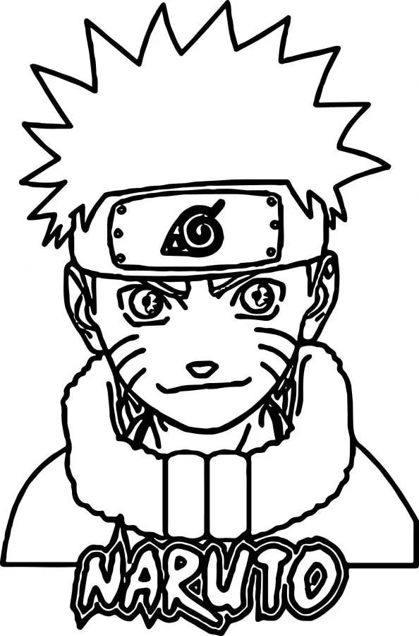 Gambar Untuk Mewarnai Naruto Download Gambar Mewarnai Gratis