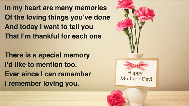 Contoh puisi bahasa Inggris tentang ibu
