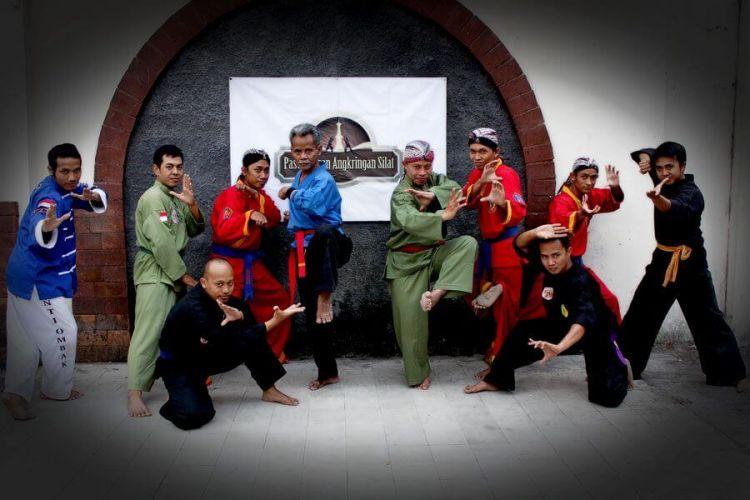 aliran pencak silat indonesia