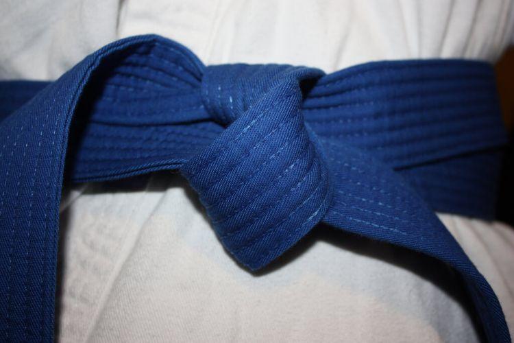 tingkatan sabuk karate biru
