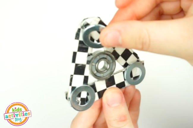 cara membuat fidget spinner