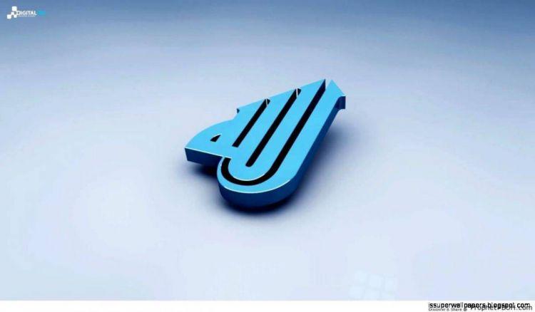 Wallpaper kaligrafi Allah 3d