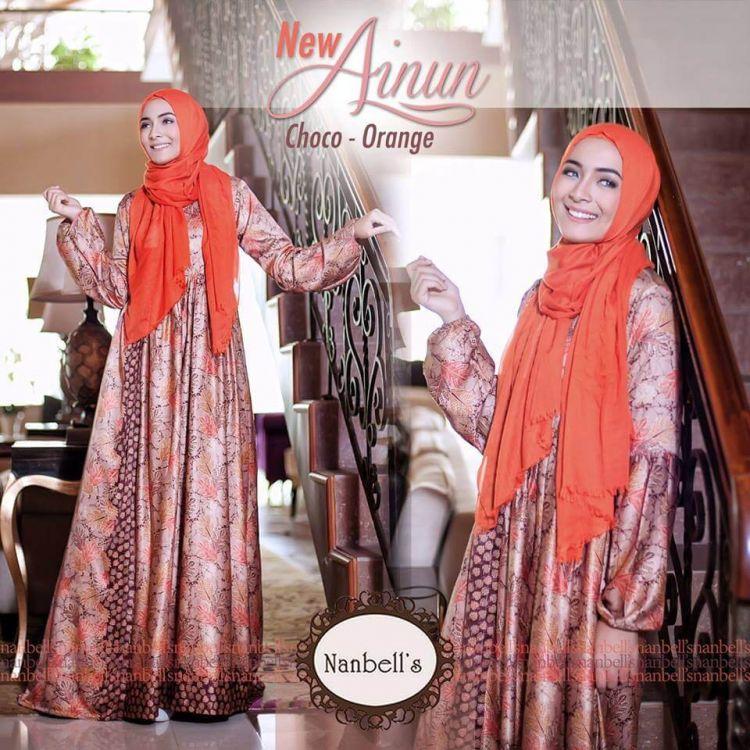 Contoh-model-baju-gamis-batik-pesta-terbaru