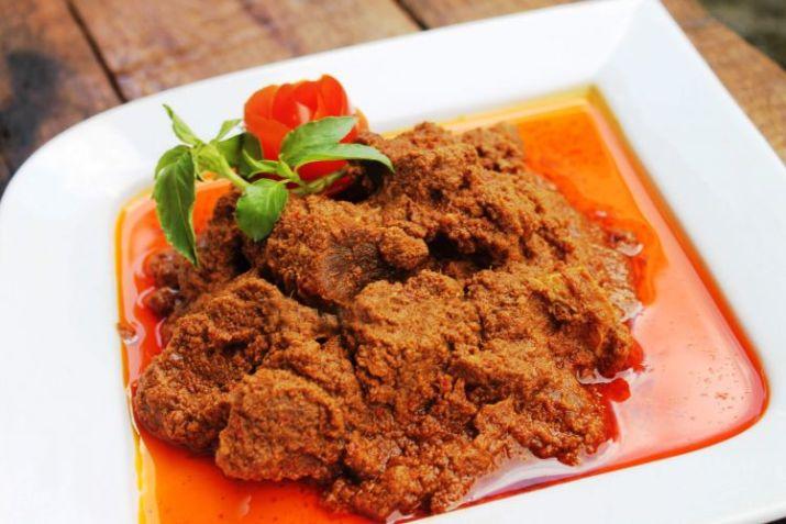 masakan padang lauk gadang