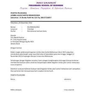 Contoh Surat Permohonan Berbagai Bidang yang Benar dan Berkualitas 1
