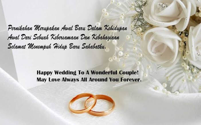 Contoh Ucapan Pernikahan Terlengkap Untuk Teman Sahabat Adik Kakak Rekan Kerja Teman Kampus Dan Mantan Inspiring Id