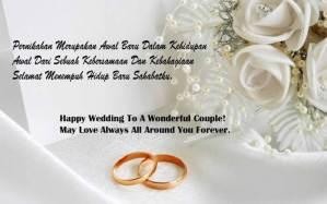 Contoh Ucapan Pernikahan Terlengkap Untuk Teman, Sahabat, Adik, Kakak, Rekan Kerja, Teman Kampus dan Mantan