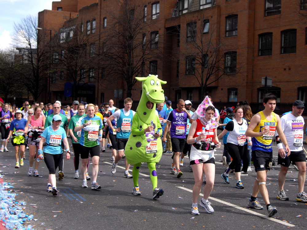 Volunteering at the London Marathon (6/6)