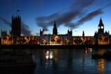 Houses of Parliament lights up (4)