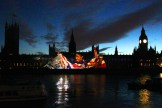 Houses of Parliament lights up (8)