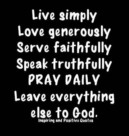 live simply1
