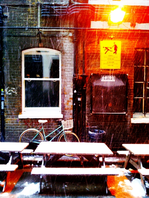 The Truman Brewery looks out onto Brick Lane and the alley leading into Dray Walk is a vibrant place to be.