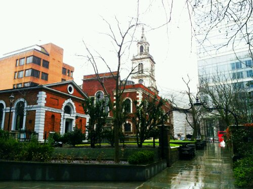 The location of the Bishopsgate