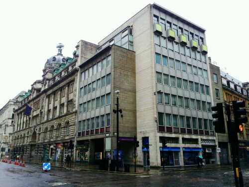 the location of the Moorgate