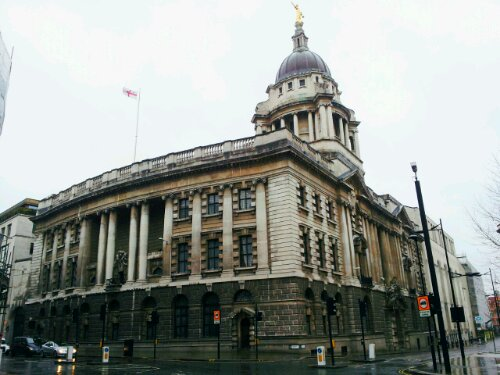 The location of the Newgate