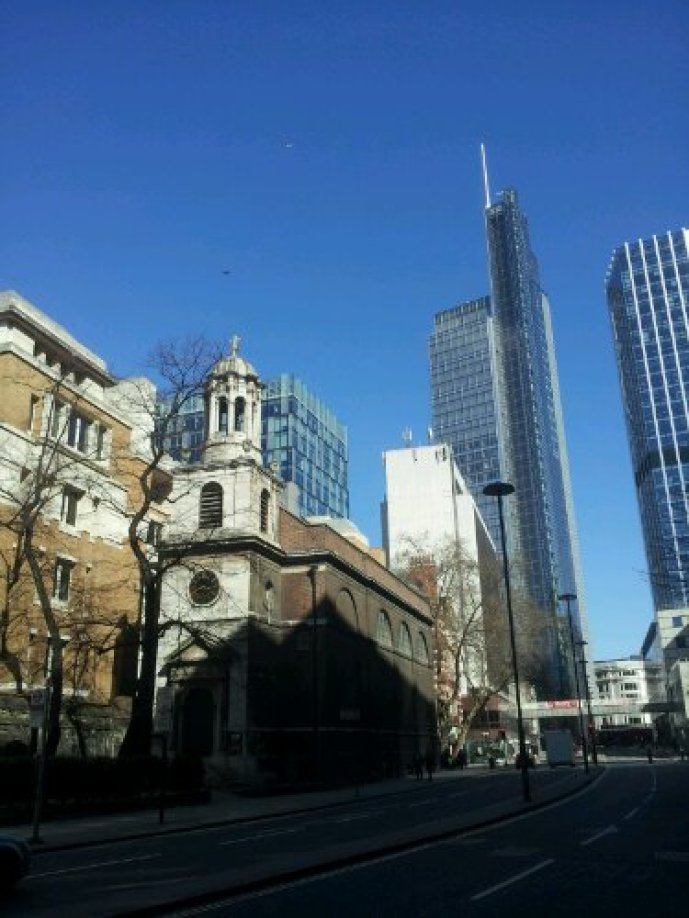 All Hallows Church on London Wall