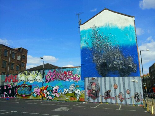 DALeast on Sclater Street Spring 2013