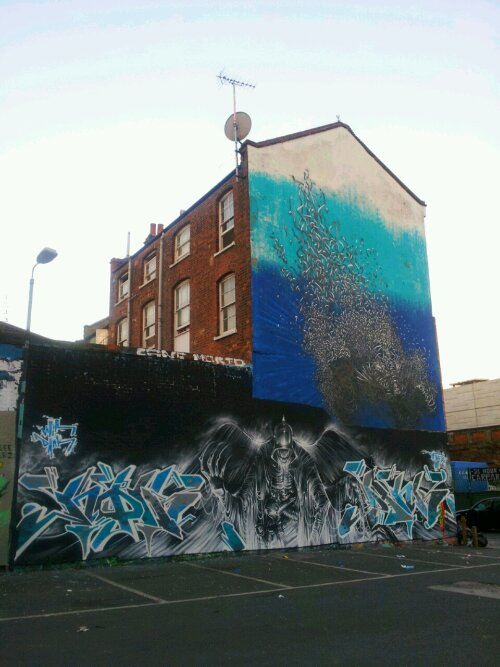 DANK, NOIR and DALeast on Sclater Street