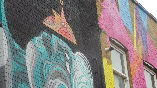 Both murals together from Reka and MadC