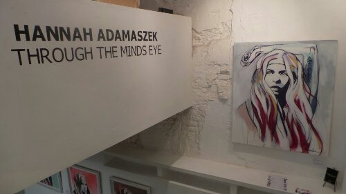 Through the Minds Eye by Hannah Adamaszek is the latest exhibition to take place at the Curious Duke
