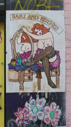 Poster on Bacon Street
