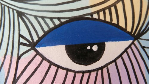The single eye has always featured heavily when Kef creates his characters