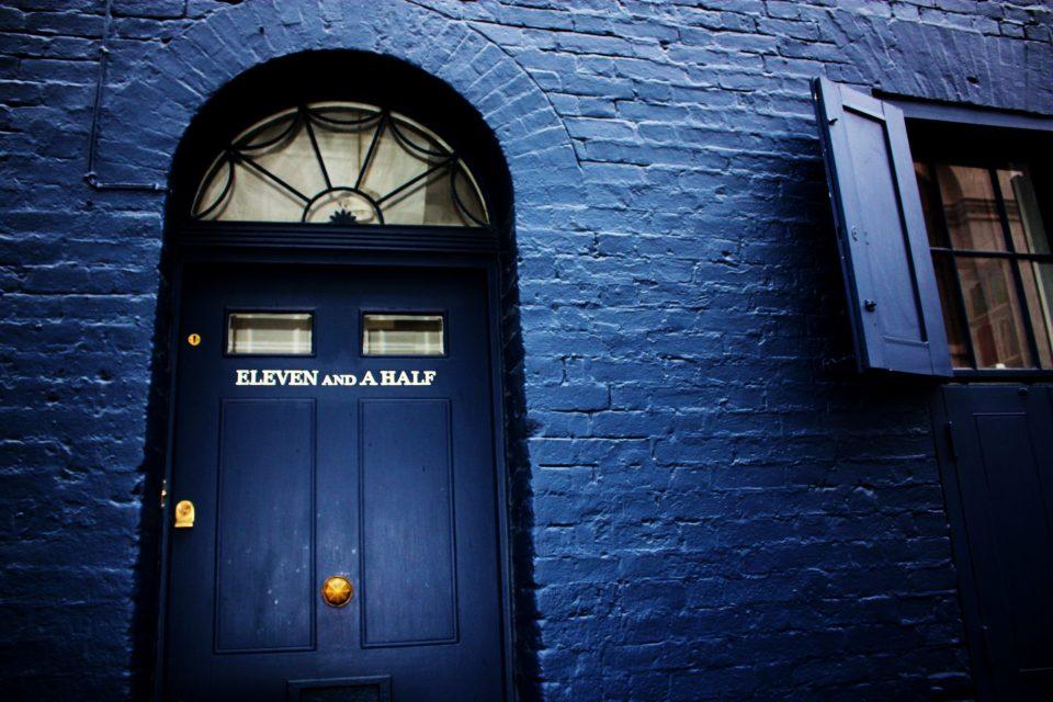 The doorway from  Huguenot House on Fournier Street in Spitalfields.  Photo by Stephanie Sadler