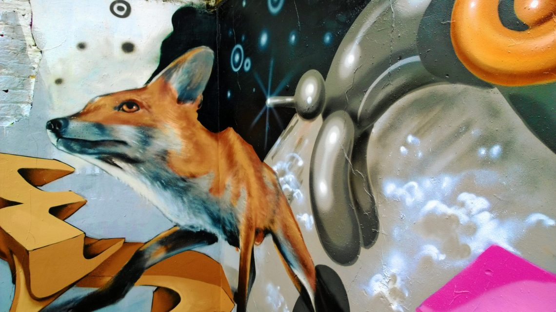 Fanakapan has recently added to a piece from Odeith resulting in a great collaboration on Brick Lane